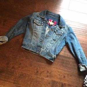 Abercrombie and Fitch Blue Jean Jacket